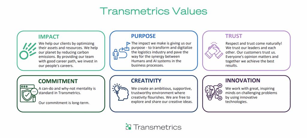 Transmetrics Values